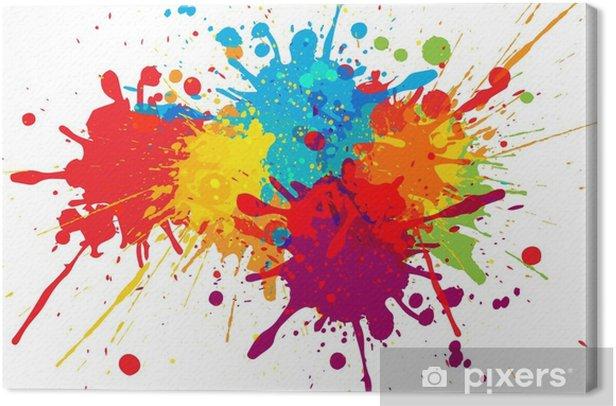 Tableau sur toile Conception de fond coloré de vecteur. conception de vecteur d'illustration - Ressources graphiques