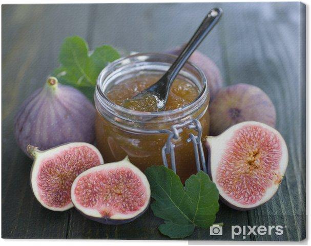 Tableau sur toile Confiture de figues - Fruits
