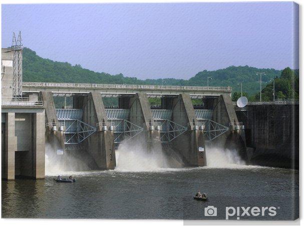 Tableau sur toile Cordell Hull Dam - Amérique