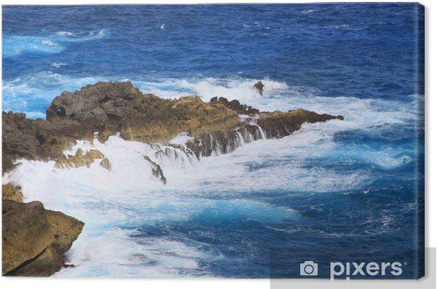 Tableau sur toile Côte Guadeloupe - Pointe de la Vigie - - Amérique