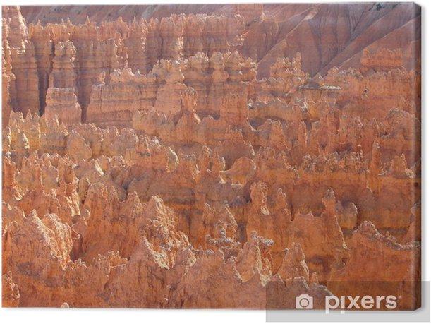 Tableau sur toile Coucher du soleil de Bryce Canyon - Merveilles naturelles