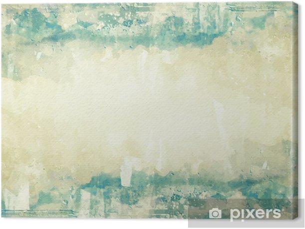 Tableau sur toile Couds dans le ciel bleu. Nature background - Ciel