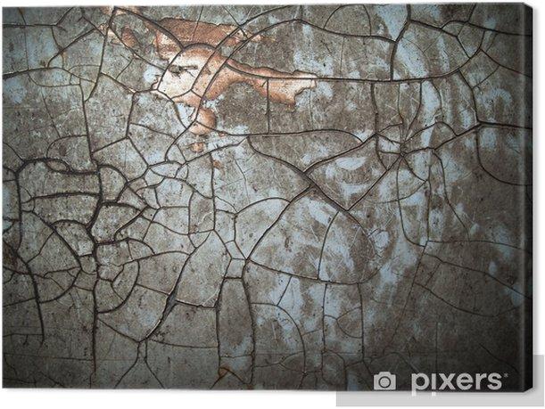 Tableau sur toile Couleur grunge abstraite - Textures