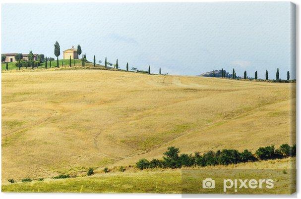 Tableau sur toile Crete Senesi (Toscane, Italie) - Campagne