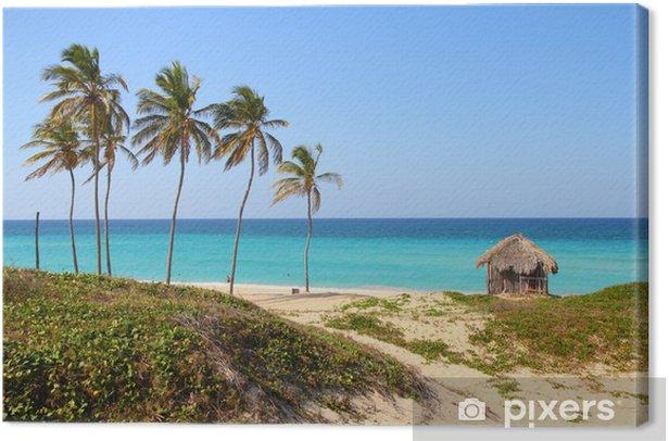 Tableau sur toile Cuba - Megano plage de Playas del Este, province de La Havane - Thèmes