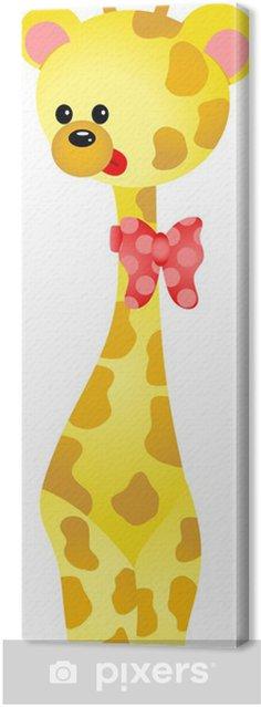 Tableau sur toile Cute Giraffe - Mammifères