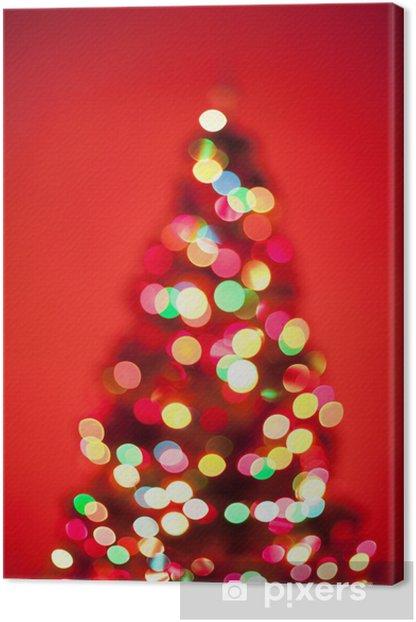 Tableau sur toile D'arbre de Noël - Fêtes internationales
