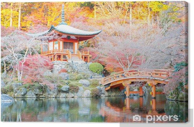 Tableau sur toile Daigoji Temple de Kyoto - Styles