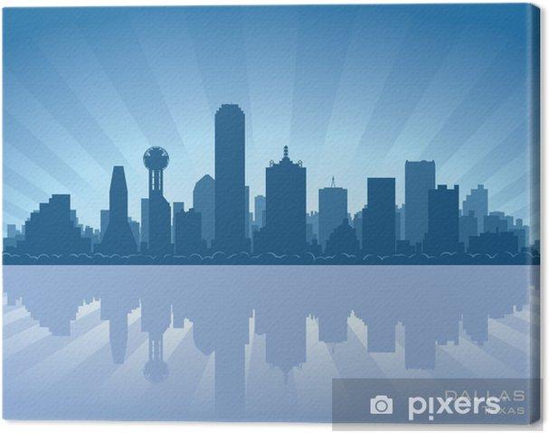 Tableau sur toile Dallas Texas Skyline - Amérique