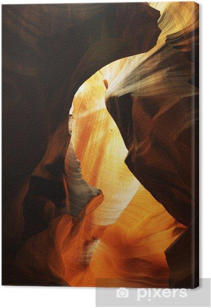 Tableau sur toile Dans Antelope Canyon - Amérique