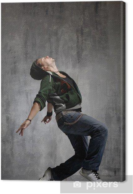 Tableau sur toile Danseur - Thèmes