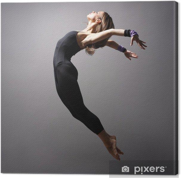 Tableau sur toile Danseuse de style moderne - Thèmes