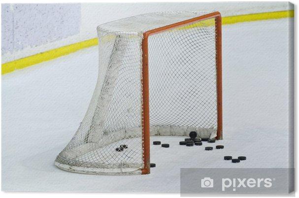 Tableau sur toile De hockey net - Sports collectifs