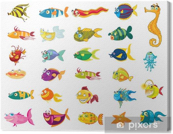 Tableau sur toile De poisson - Criteo