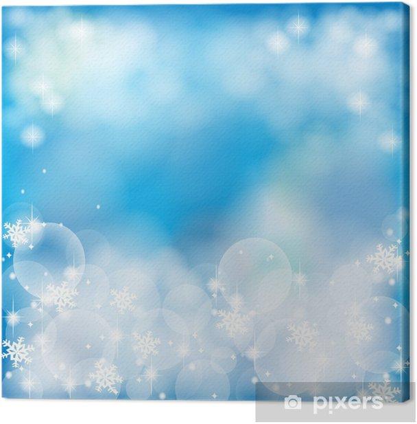Tableau sur toile Deep blue abstrait, de créer par le vecteur - Saisons