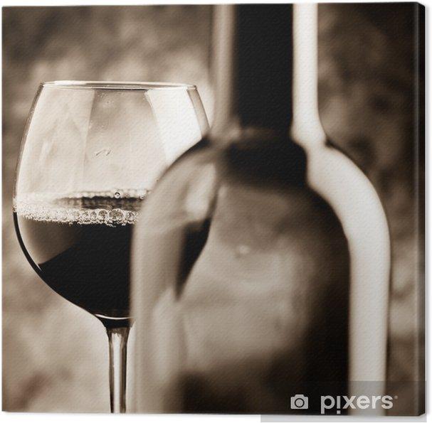 Tableau sur toile Dégustation de vins - Dégustation de vin - Thèmes