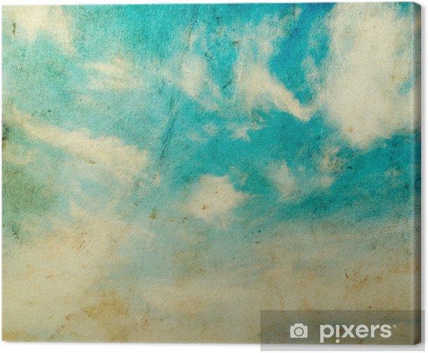 Tableau sur toile Des nuages - Thèmes