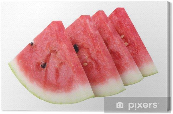 Tableau sur toile Des tranches de pastèque .. - Fruits