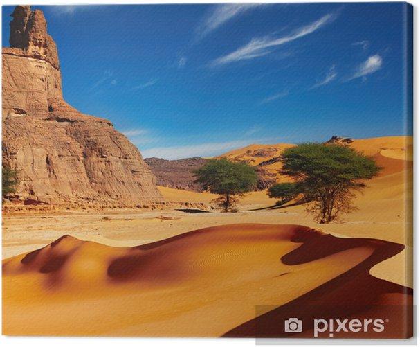 Tableau sur toile Désert du Sahara, Algérie - Thèmes