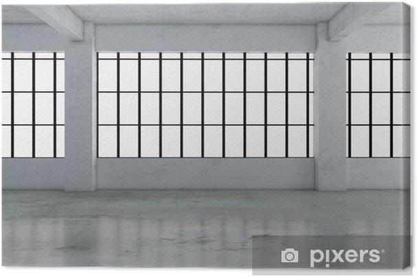 Tableau sur toile Design d'intérieur industriel et décoration images de rendu 3d pour votre travail. - Ressources graphiques