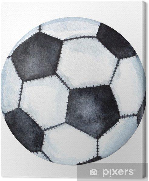Tableau Sur Toile Dessin Classique De Ballon De Football Football