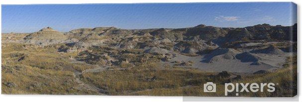 Tableau sur toile Dinosaur Provincial Park - Désert