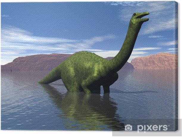Tableau sur toile Dinosaure - Autres Autres