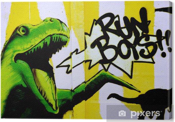 Tableau sur toile Dinosaure - Thèmes