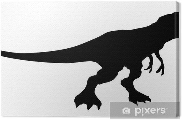 Tableau sur toile Dinosaurio - Sticker mural
