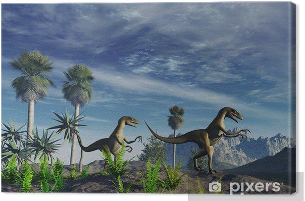 Tableau sur toile Dinosaurios - Thèmes