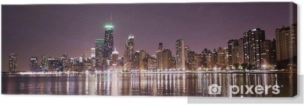 Tableau sur toile Downtown Chicago - Thèmes