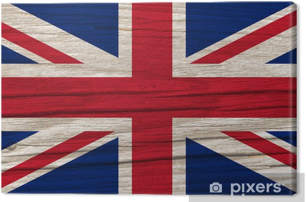 Tableau sur toile Drapeau de l'Angleterre - Europe