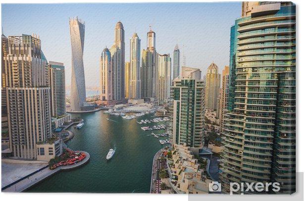 Tableau sur toile Dubai Marina, Émirats Arabes Unis - Thèmes