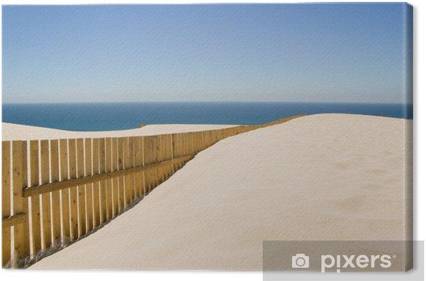 Tableau sur toile Dune - Vacances