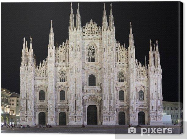 Tableau sur toile Duomo di Milano, Milan, Italie - Vacances
