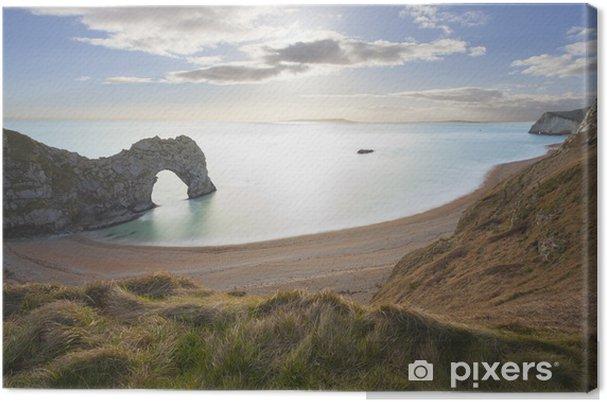 Tableau sur toile Durdle Door Dorset, côte jurassique, Royaume-Uni. - Europe