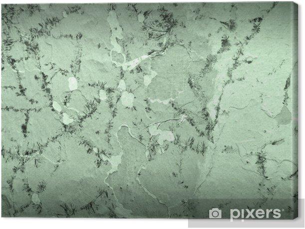 Tableau sur toile Écaillage mur de plâtre - Arrière plans