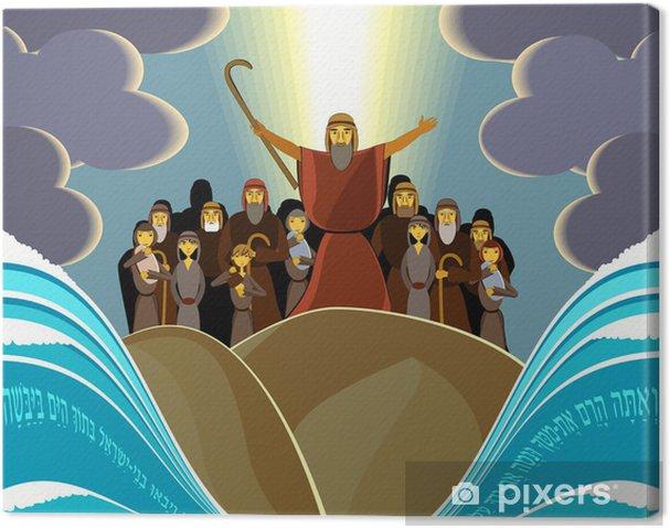 Tableau sur toile Échapper à l'Egypte - Religion