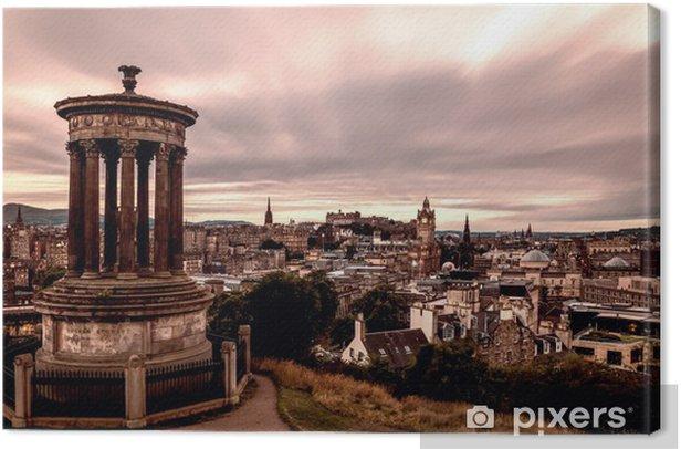 Tableau sur toile Édimbourg, en Écosse - Thèmes