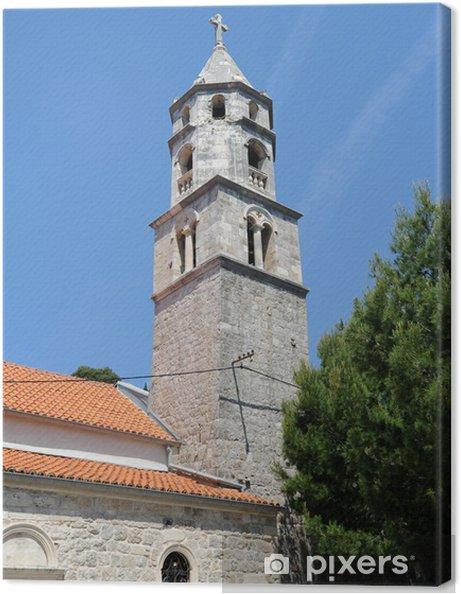 Tableau sur toile Église Notre-Dame-des-Neiges à Cavtat - Europe