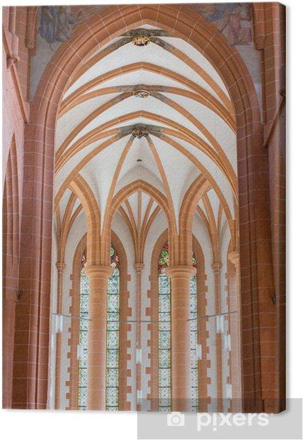 Tableau sur toile Église Saint-Esprit de Heidelberg en Allemagne - Europe
