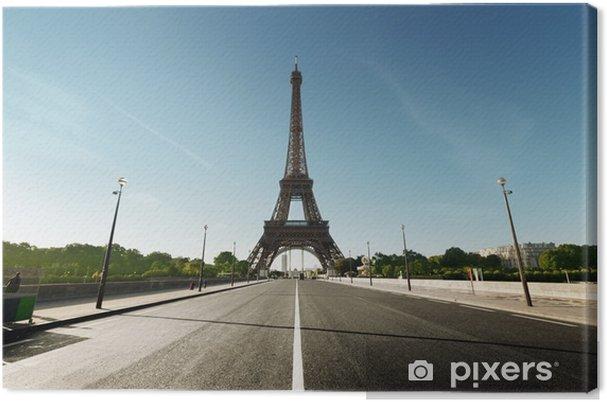 Tableau sur toile Eiffel tower paris france - Villes européennes