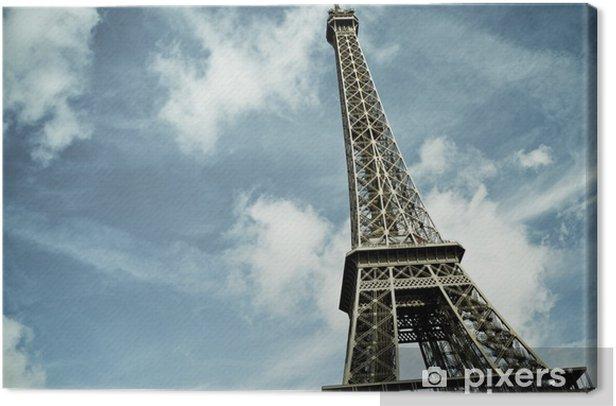 Tableau sur toile Eiffel tower - Thèmes