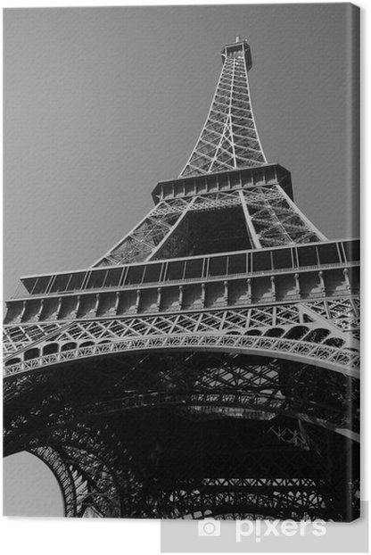 Tableau sur toile Eiffelturm - Villes européennes