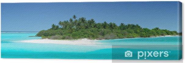 Tableau sur toile Einsame tropische Insel - Vacances