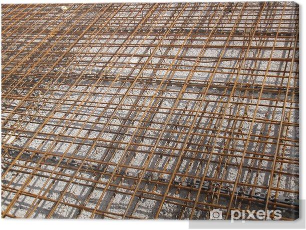 Tableau sur toile Eisenbau, armierung - Industrie lourde