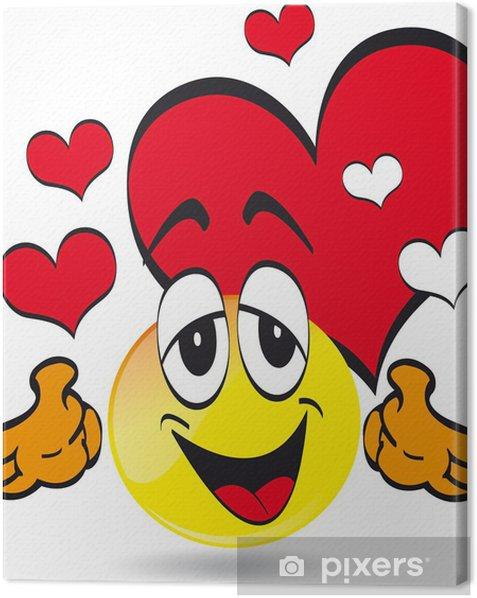 Tableau Sur Toile Emoticone Smiley Pixers Nous Vivons Pour Changer
