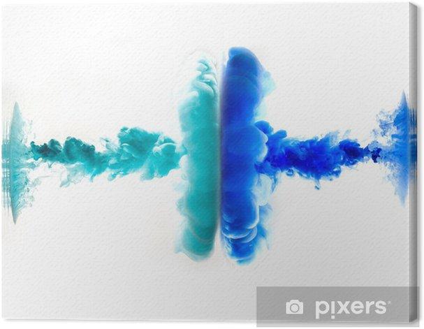 Tableau sur toile Encre et de l'eau - Abstrait
