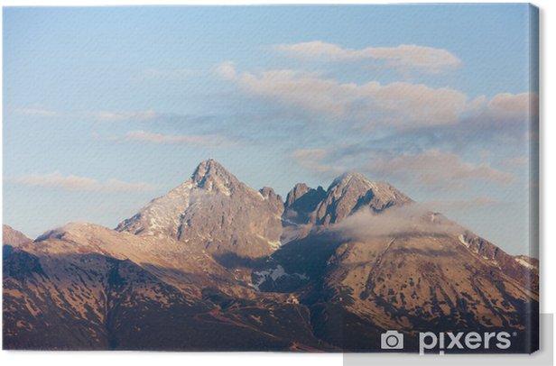 Tableau sur toile Environs de Lomnicky Peak, Vysoke Tatry (Hautes Tatras), Slova - Thèmes