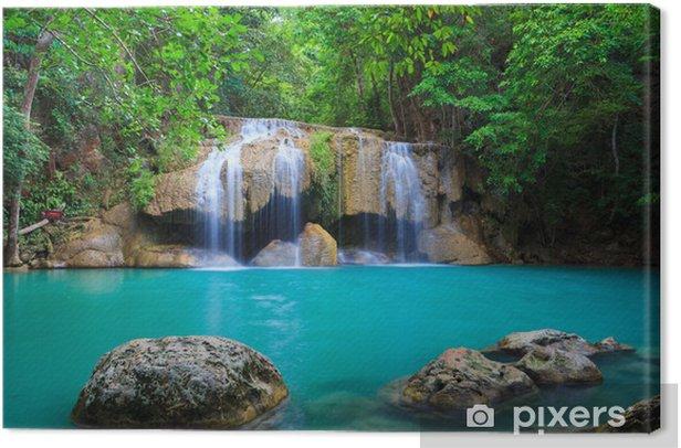 Tableau sur toile Erawan Waterfall, Kanchanaburi, Thaïlande - Thèmes